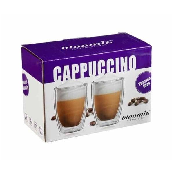 Zestaw 2   kubków na cappuccino bloomix Roma
