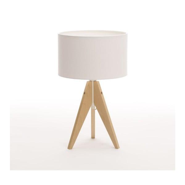 Lampa stołowa Artist Classic Birch/White