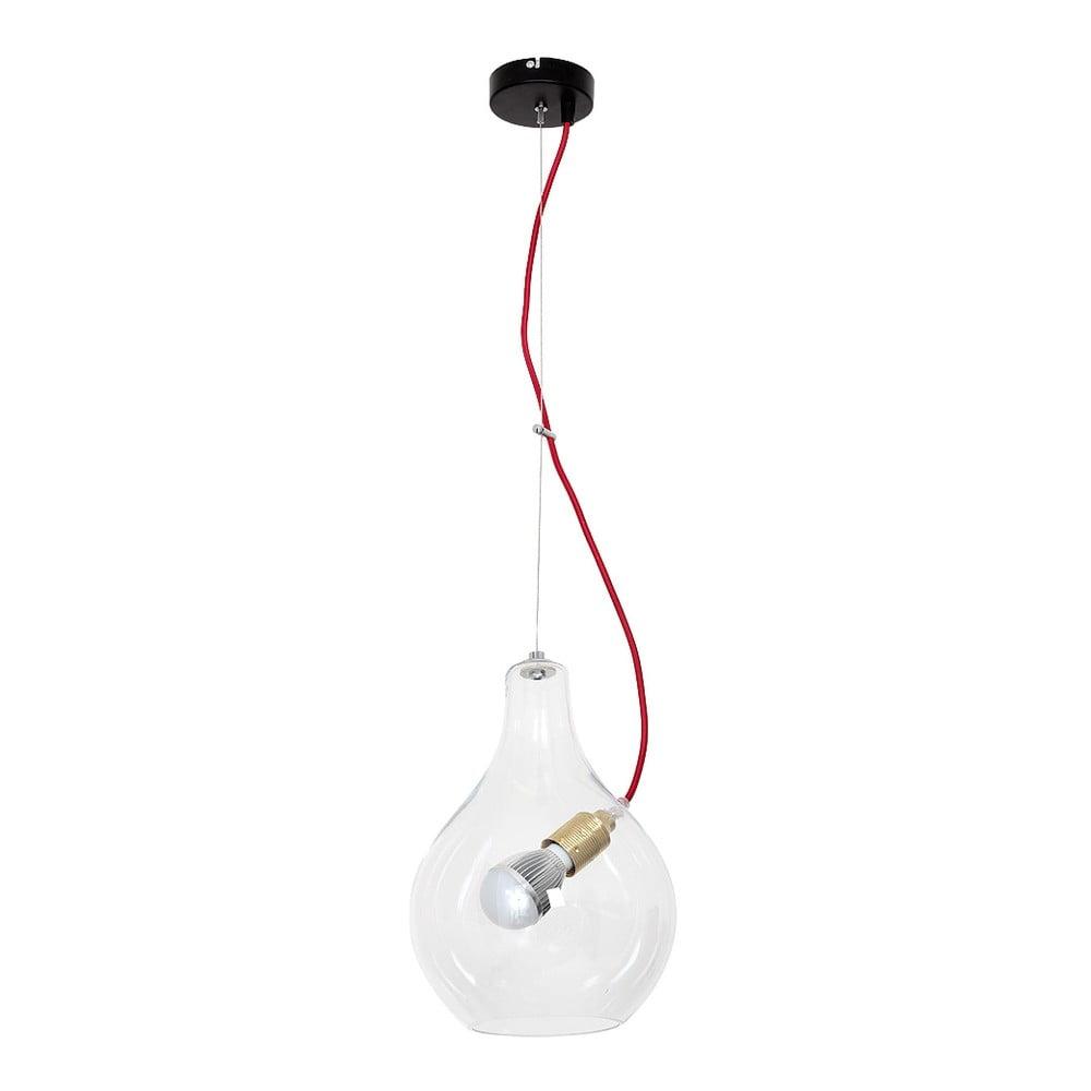 Lampa wisząca Evergreen Lights Single Transparent