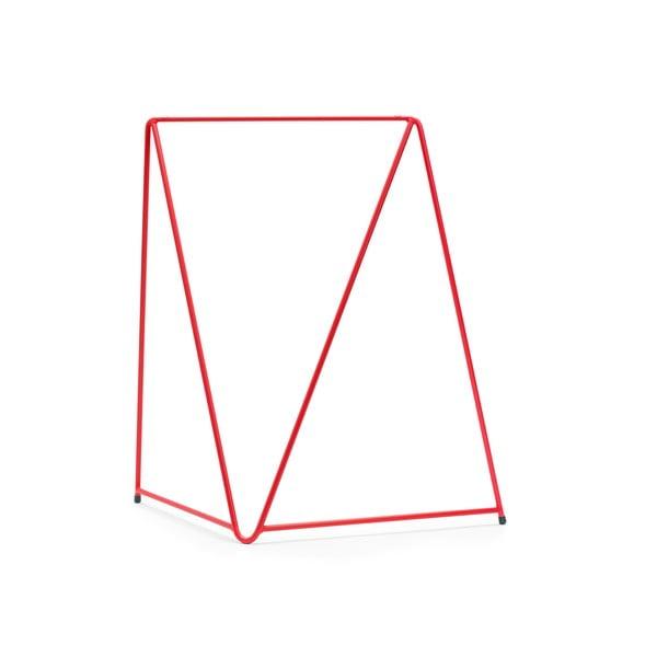 Czerwona noga do stołu Master & Master Diamond, 70x70cm