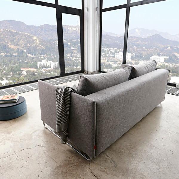 Szara sofa rozkładana Innovation Upend