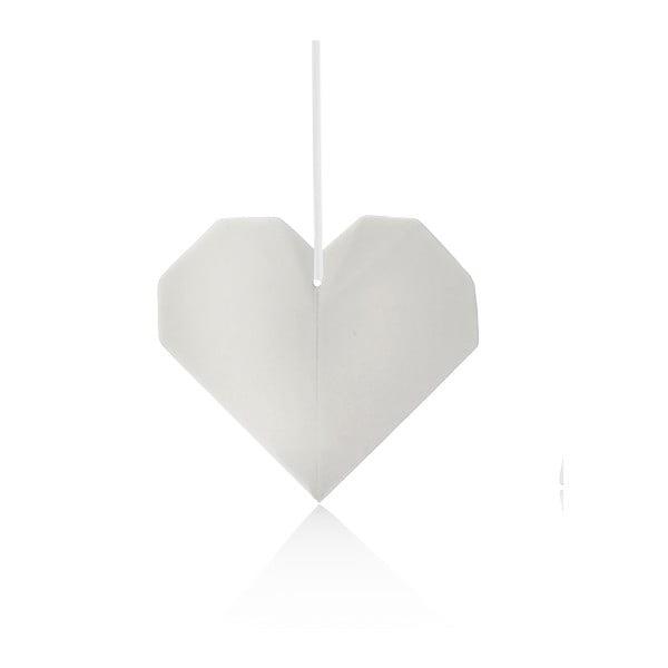 Porcelanowa dekoracja Origami Heart
