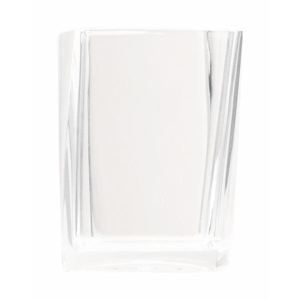 Kubek na szczotki do zębów Transparent White