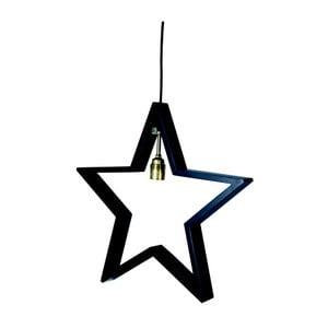 Wisząca gwiazda świecąca Best Season Hanging Black