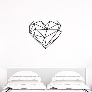 Naklejka Ambiance Origami heart