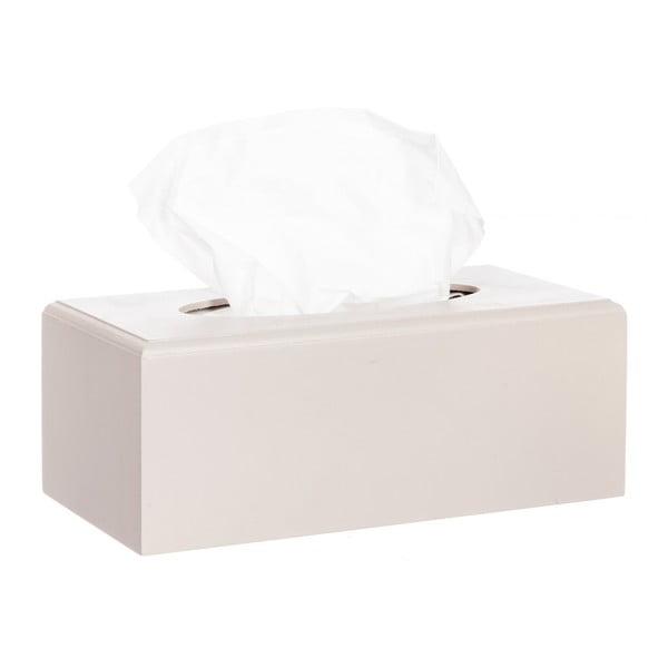 Zestaw 2 pudełek na chusteczki Beige Taupe