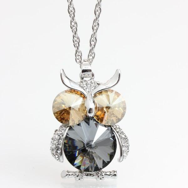 Naszyjnik z kryształami Swarovski Elements Laura Bruni Marcelle