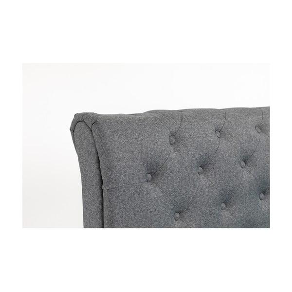 Beżowe łóżko 2-osobowe Chez Ro Ringsted, 160x200 cm