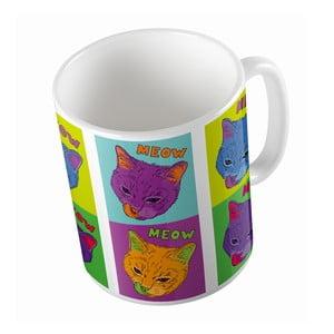Ceramiczny kubek Butter Kings Warhol Cats, 330 ml