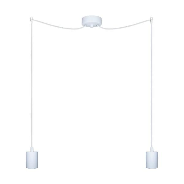 Dwa wiszące kable Zero, biały/biały