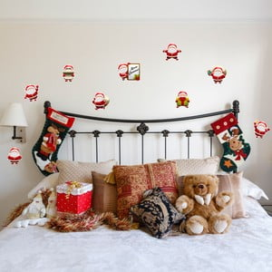 Naklejki   Fanastick Funny Santa Claus