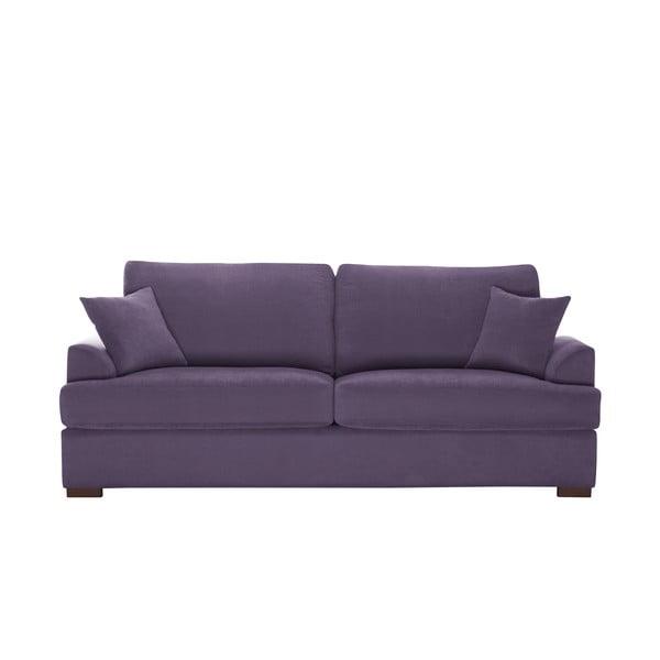 Sofa trzyosobowa Jalouse Maison Irina, fioletowa