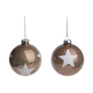 Zestaw 2 dekoracji wiszących Ewax Stars
