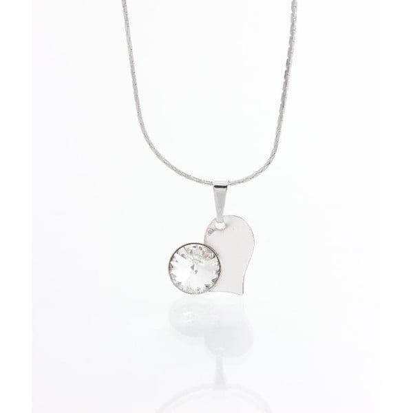 Naszyjnik z kryształami Swarovskiego Yasmine Pure Heart