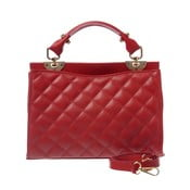 Skórzana torebka Coco Miss Red