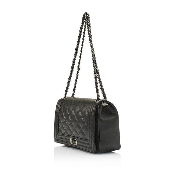 Czarna torebka skórzana Lisa Minardi Silviana