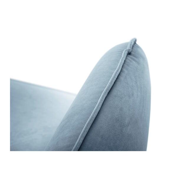 Jasnoniebieska sofa 2-osobowa Cosmopolitan Design Vienna