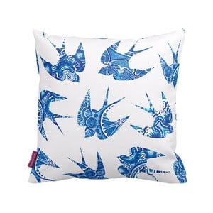 Poszewka na poduszkę Blue Bird, 43x43cm
