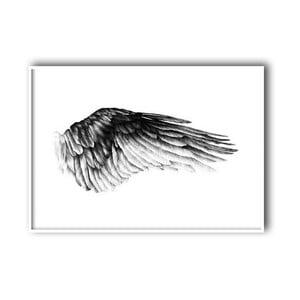 """Plakat autorski """"Wing"""", 30x40 cm"""