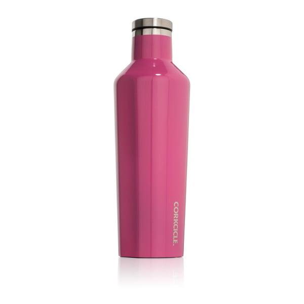Różowa butelka termiczna Corkcicle Canteen, 470 ml