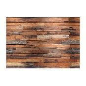 Wielkoformatowa tapeta Drewniana ściana, 366x254 cm