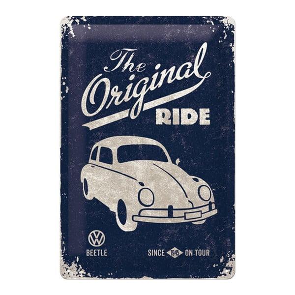 Zestaw 2 blaszanych tablic Original Ride, 20x30 cm