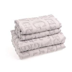 Zestaw 4 ręczników bawełnianych Casa Di Bassi Gtypo