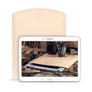 Skórzane etui na tablet Samsung Galaxy 10.1 (Tab 3, 4 / Note) Cream