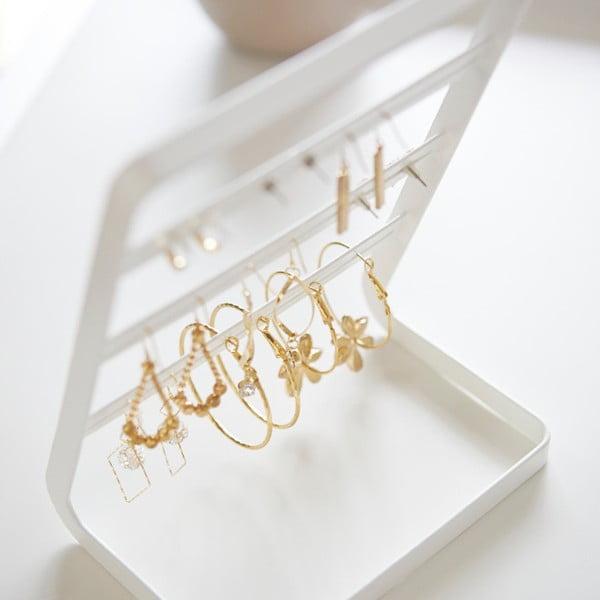 Biały stojak na biżuterię Yamazaki Branch