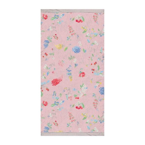 Ręcznik Pip Studio Hummingbirds, 55x100 cm, lila