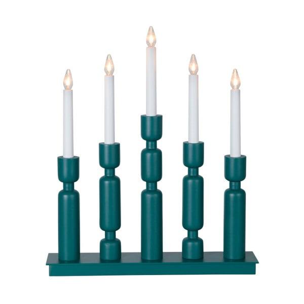 Niebieski świecznik LED Uddebo