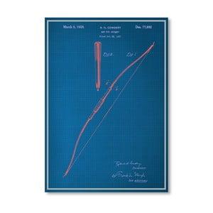 Plakat Bow, 30x42 cm