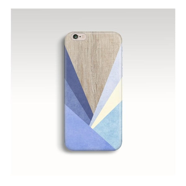 Etui na telefon Wood Triangles IV na iPhone 5/5S