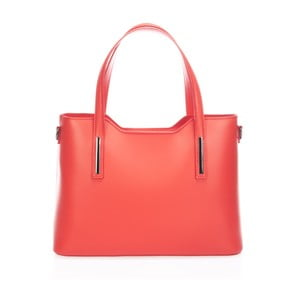 Skórzana torebka Markese 2418 Red