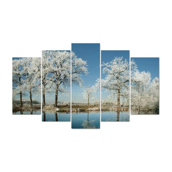 5-częściowy obraz Meadows, 60x100 cm