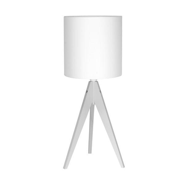 Lampa stołowa Artist White/White, 40x25 cm