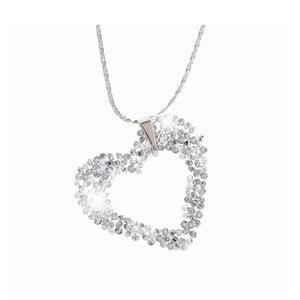 Naszyjnik z kryształami Swarovskiego® Yasmine Heart