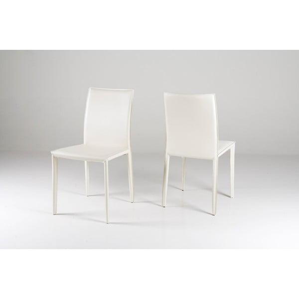 Krzesło do jadalni Andrew, białe