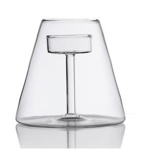 Szklany świecznik Abajour
