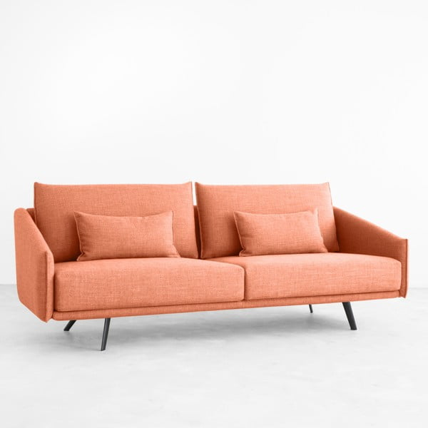 Sofa dwuosobowa Costrua, ceglana