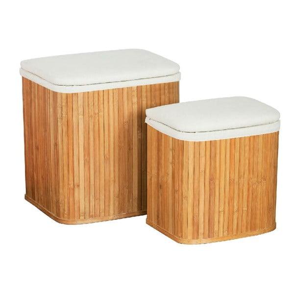 Zestaw 2 koszy na pranie Bamboo II