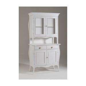 Biały 4-drzwiowy kredens drewniany Castagnetti Changtal