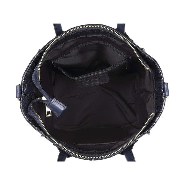 Skórzana torebka Kossie Blue