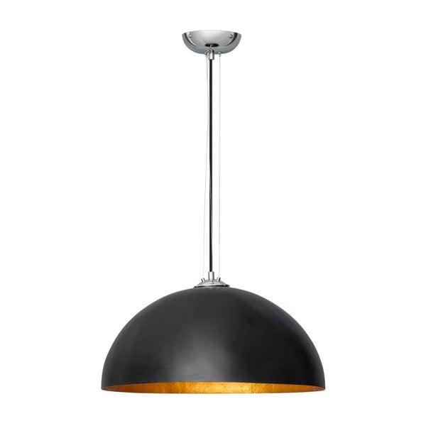 Czarno-miedziana lampa wisząca ETH Krijt Charlie