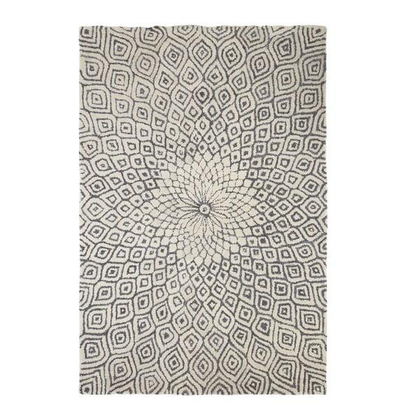 Dywan wyszywany Kaleido Print, 170x240 cm, szary