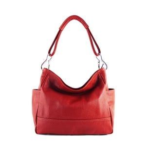 Skórzana torebka Acides Rosso