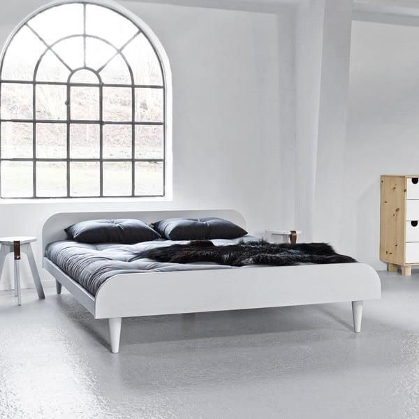 Łóżko Says Who for Karup Twist White, 180x200 cm