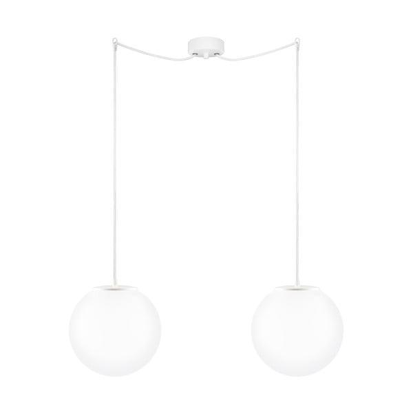 Lampa podwójna Tsuki M Elementary opal matte/white/white