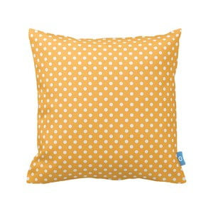 Poduszka Yellow Dots, 43x43 cm