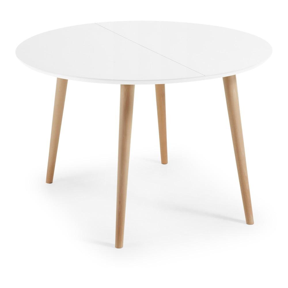 Stół rozkładany La Forma Oakland, ⌀ 120 cm